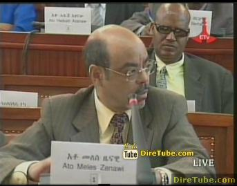 PM Meles Zenawi responds to queries raised by MPs - Part 2