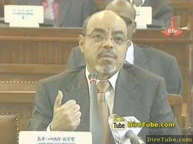 Ethiopian News - PM Meles Zenawi address about the new Land Lease Policy and issue of Tax