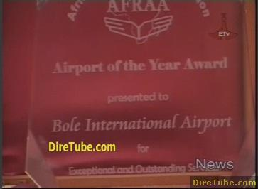 Bole international airport receives the Years African Airlines Best Award