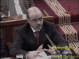 ETV Live! - House approves 117.8b Birr federal gov't budget for 2011-12 - Part 2