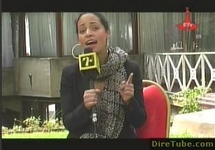 Emilia Teshome in Addis for Music Concert