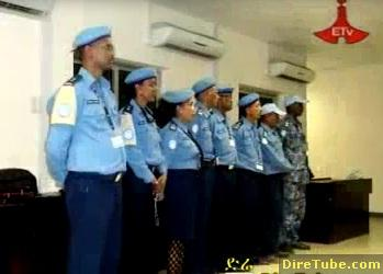 Ethiopian Police Peace Troops