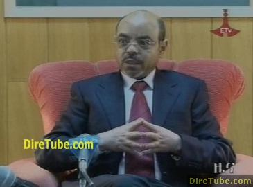 Meles says diversity symbol for unity, strength