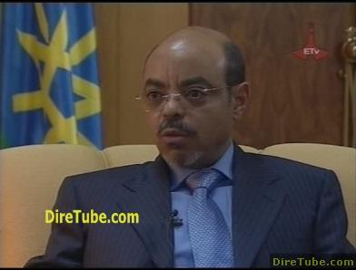 PM Meles Interview on Current Issue in Addis - Part 1