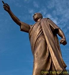 Dr Kwame Nkrumah's Statue at the new AU HQ