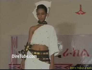 Ethiopian Fashion Show with Cultural Ethiopian Clothing