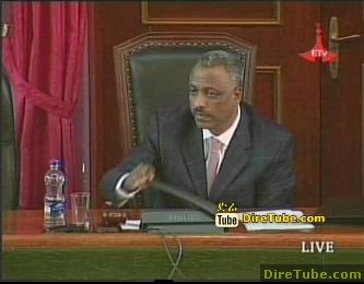PM Meles Zenawi responds to queries raised by MPs - Part 3