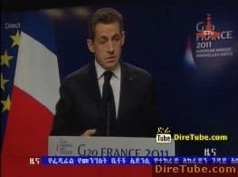 ETV 1PM Full Amharic News - Nov 4, 2011