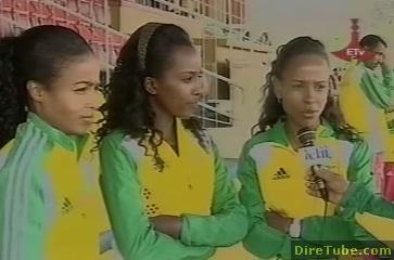 Ethiopian Athletes and Artists support to the Great Dam