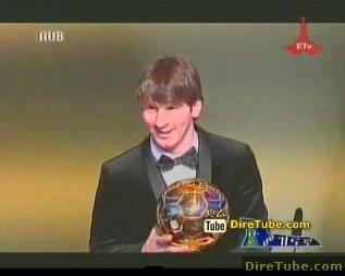 The Fifa Ballon D'or 2010