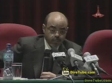 PM Meles Discussion with the business community
