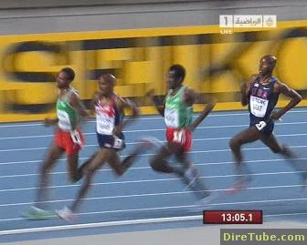 Imana Mergeya Takes Bronze Medal for Ethiopia in 5000M