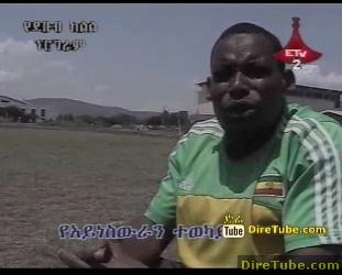 In Ethiopia Football for blind peoples