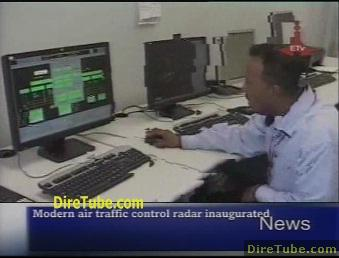 Modern air traffic control radar inaugurated