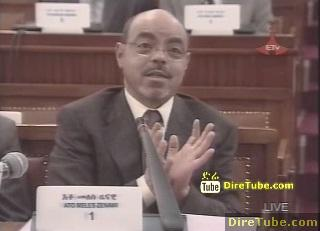 PM Meles Zenawi Says no one arrests without evidence - October 20, 2011