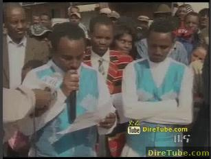 ETV 1PM Full Amharic News - Jan 3, 2010