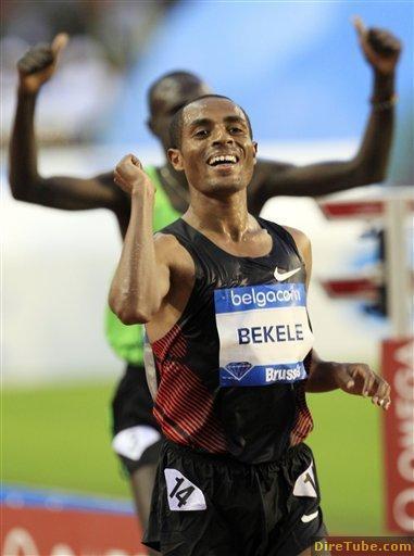 Kenenisa Bekele sets season best in 10000m in brussels - Sep 17,2011