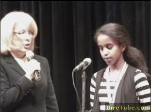Ethiopian Girl wins Spelling Bee - 2011 in New Jersey