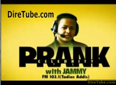 Comedian Abiy Pranks Celebrity Fasil Demoz - [MUST SEE]