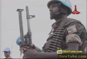 Ethiopian Force Acting Peace Keeper in Abiey