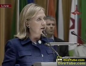 Hilary Clinton lauds Africa's achievements - Part 3/4