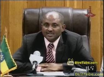 ETV 8PM Full Amharic News - Jan 3, 2010