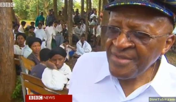 Archbishop Tutu fights against child marriage in Ethiopia