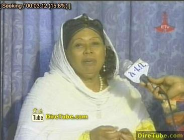 Ethiopian TV - Almaz Haile celebrating her 65th Birth Day