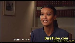 Talking Movies - Liya Kebede's Desert Flower on BBC World News
