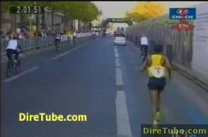 Haile Gebrselassie wins Half Marathon in Vienna