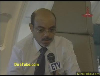PM Meles Zenawi on BBC apologises for Band Aid slur‎