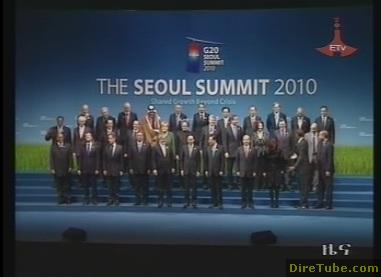 PM Meles and The Seoul Summit 2010