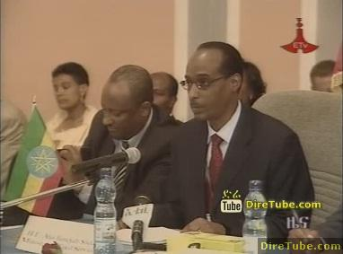 ETV 8PM Full Amharic News - Jan 11, 2010
