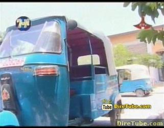 Dire Dawa City and the Bajaj Transport