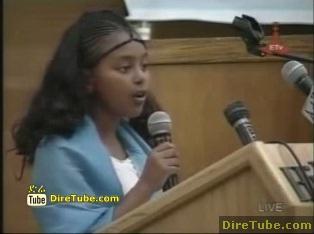 Amazing Speech on Grand Renaissance Dam Fund Raising - [MUST WATCH]