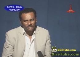Meet Journalist Dejene Tilahun Eth. National Radio Narrator