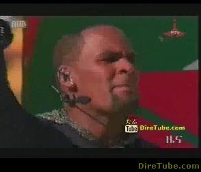 R&B singer, songwriter, R-Kelly arrived in Ethiopia