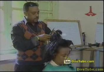Hair Styling in Ethiopia