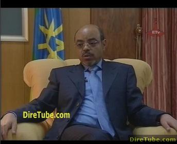PM Meles Interview on Current Issue in Addis - Part 2