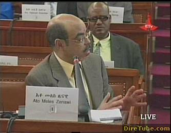 PM Meles Zenawi responds to queries raised by MPs - Part 5