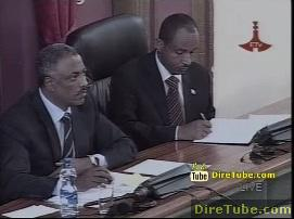 ETV Live! - House approves 117.8b Birr federal gov't budget for 2011-12 - Part 1