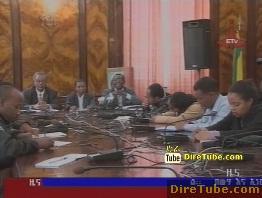 ETV 8PM Full Amharic News - Aug 18,2011