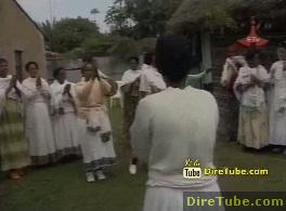 Meskel Celebration in Gurage - Part 1