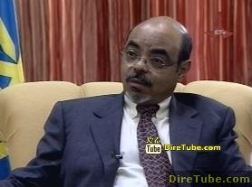Ethiopian News - PM Meles Full Interview with ERTA on the Nile Dam Part 2