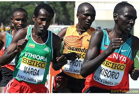 Ethiopia's Imana Marga Wins senior men's race at Punta Umbria
