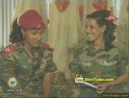 Meet two Ethiopian Women paratroopers