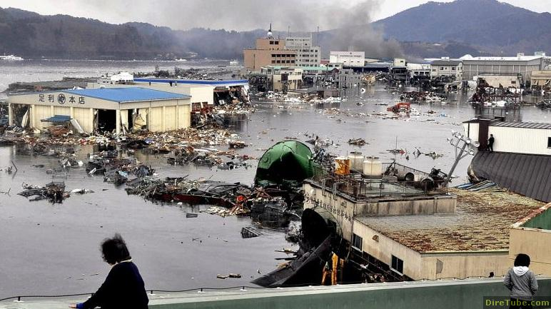 Japan Hit By Tsunami
