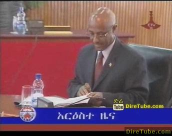 ETV 8PM Full Amharic News - Dec 28, 2010