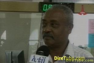 Ethiopian News - Addis Ababa City Residents Buying bonds for the Grand Dam Project