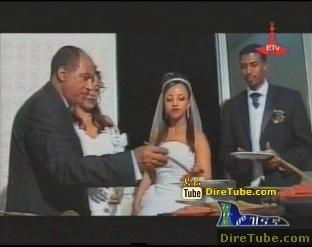 DireTube Exclusive Tsegaye Eshetu Sings at Teddy Afro Wedding HD